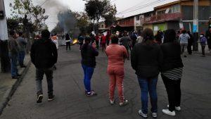 Vecinos de la comuna de La Pintana protagonizaron nueva manifestación por falta de ayuda