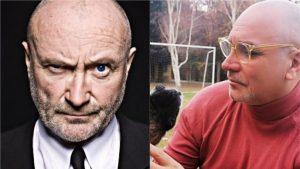 Lucho Jara aseguró que con su nuevo look se parece a Phil Collins y las redes sociales se llenaron de memes
