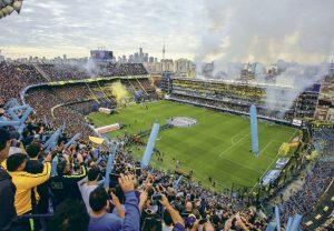 La Bombonera de Boca Juniors fue elegido como el estadio más pasional del mundo