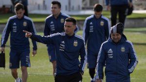 """La confesión de Scaloni tras ser ayudante de Sampaoli en el Mundial de Rusia: """"Nunca más hablé con él"""""""