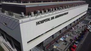 Principio de incendio se registró en el nuevo hospital Gustavo Fricke