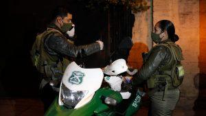 Carabineros detuvo a mujer con Covid-19 afuera de sucursal de BancoEstado