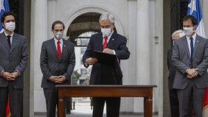 Presidente Piñera promulgó Ley de Portabilidad Financiera