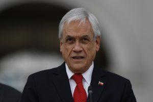 Sebastián Piñera anunció que han entregado más de 622 mil canastas de alimentos en Chile
