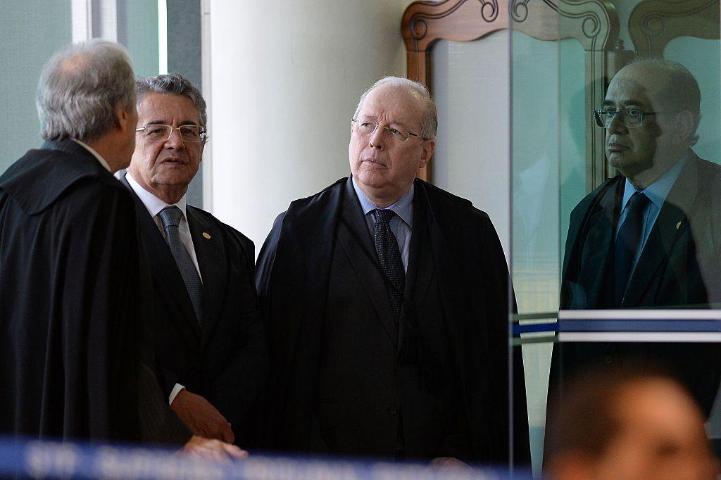 El ministro de la suprema brasilera Celso de Mello