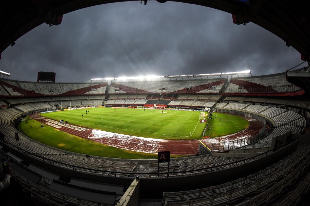 River versus Binacional sin público en la Libertadores por el Covid-19