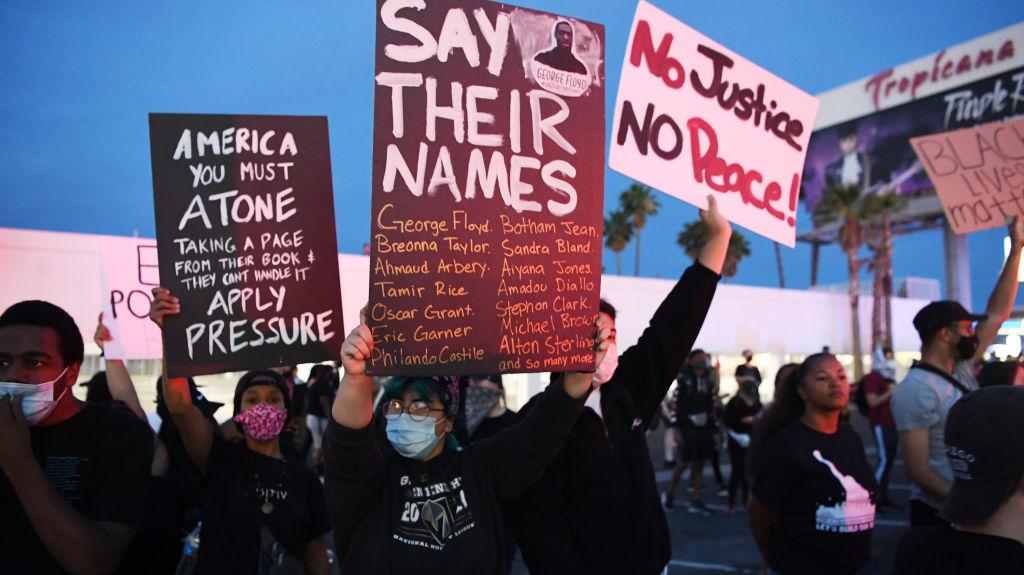 Las protestas contra el racismo y el abuso policial continúan en EEUU
