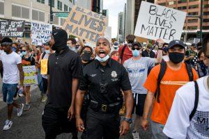 Ola de protestas raciales en Estados Unidos a una semana del homicidio de George Floyd