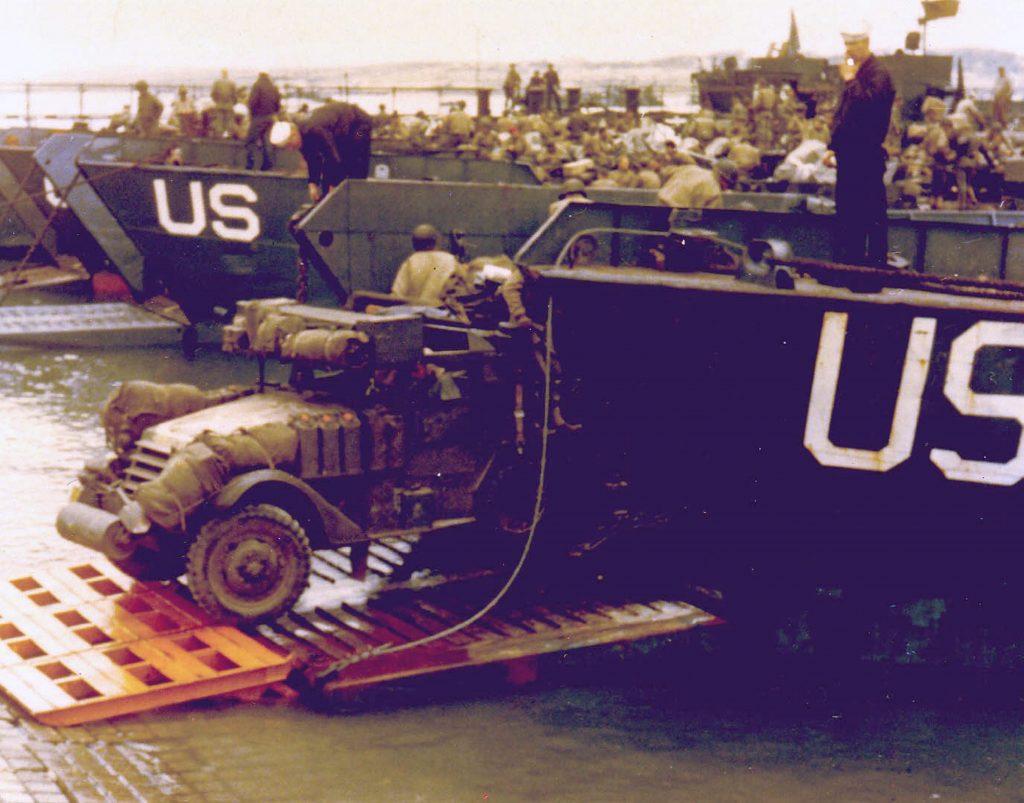 A World War Two half-track.