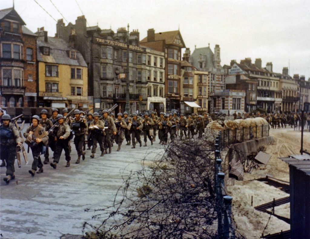 US Troops on D Day.