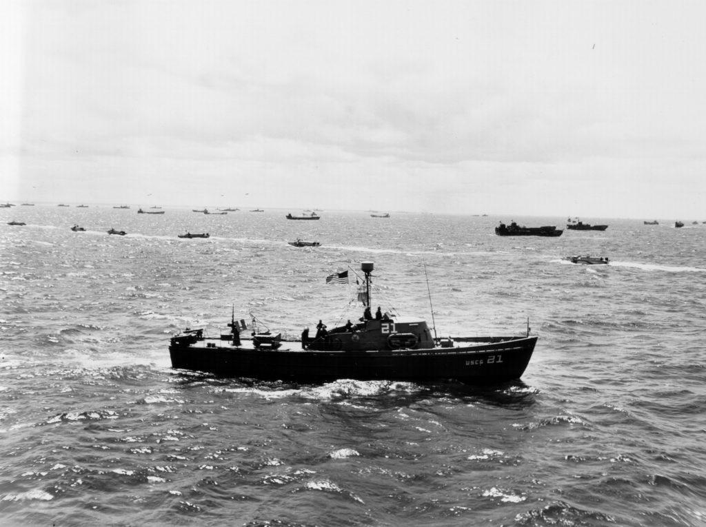 D-Day landings.