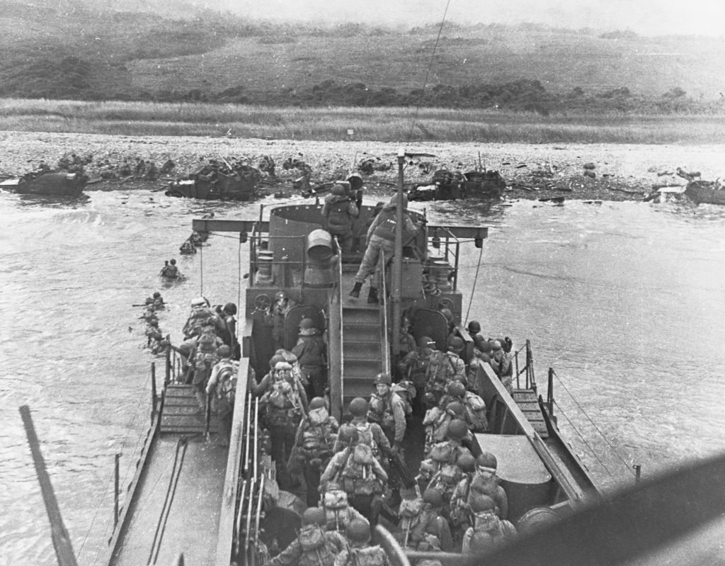 Omaha Beach landings, D-Day, the Normandy Invasion, June 6, 1944