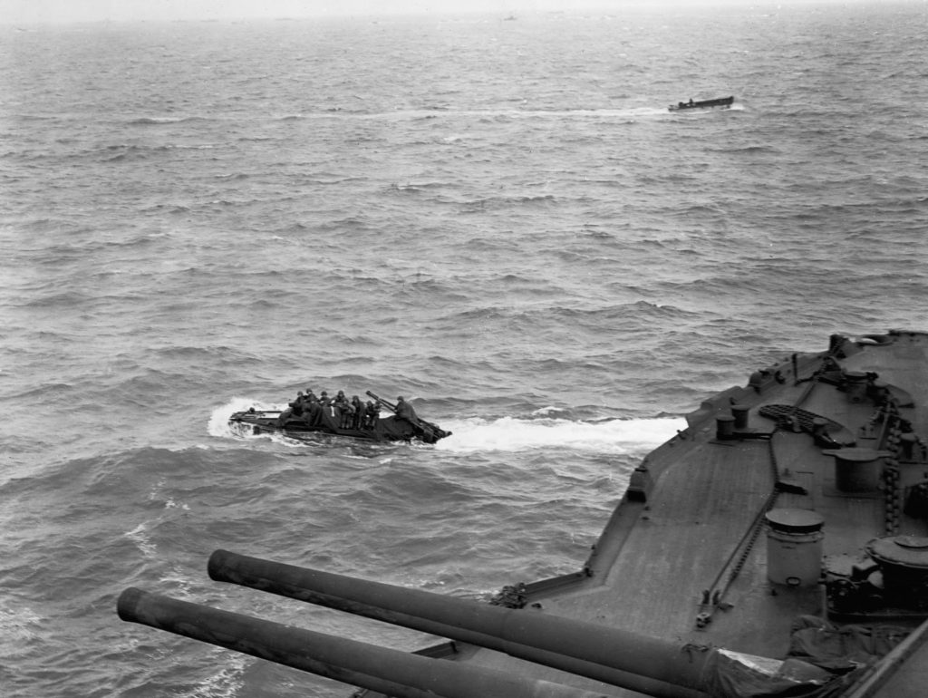 Vehicles Ferry to Normandy on D-Day