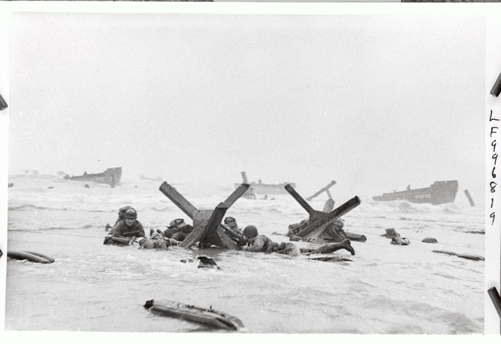 D-Day Landings Under German Fire