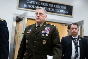 Altos mandos militares se desmarcaron de Trump y su apuesta de mano dura