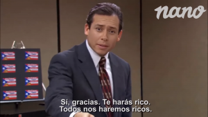 Nano Videos se refiere a la polémica que involucra a Karol Lucero con conocida escena de The Office
