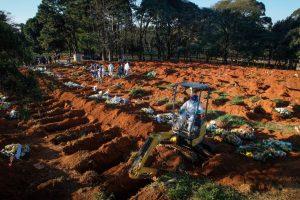 Brasil superó las 140.000 víctimas y roza los 4.700.000 contagios del Covid-19