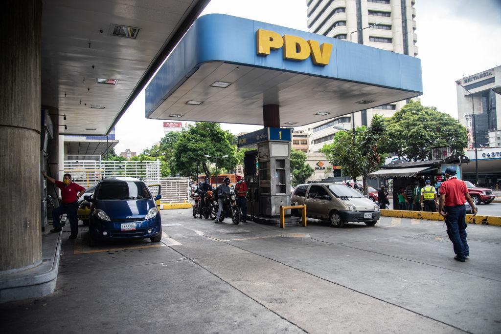 Una estación de servicio en Venezuela