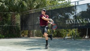 La historia del primer tenista chileno que volvió a la actividad