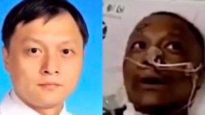Falleció uno de los doctores chinos a los que se les oscureció la piel por el Covid-19