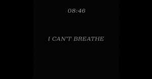 I can't breathe: MTV lanzó angustiante campaña por el #BlackoutTuesday en honor a George Floyd