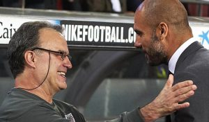 """Guardiola es tajante: """"Creo que Bielsa es el mejor entrenador del mundo"""""""