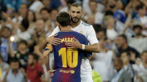 Karim Benzemá le mete presión a Lionel Messi en ser el máximo goleador de la liga española