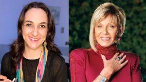 Renata Bravo sacó risas con imitación de Raquel Argandoña