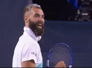 Otra locura: Benot Paire se inventó un golpe que no se había visto antes en el tenis