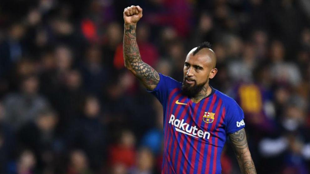 Arturo Vidal tuvo que realizar examen antidoping sorpresa por parte de la UEFA