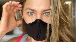 Jennifer Aniston entregó potente mensaje sobre el uso de mascarillas
