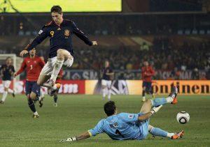 """David Villa recordó el tanto que le hizo a Chile en Sudáfrica 2010: """"Fue el más complicado"""""""