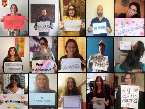 """Ayudando a sus alumnos más allá de las aulas: """"En ADN todo suma"""" conocimos la labor solidaria de la escuela Reyes Católicos de Santiago"""