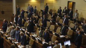 Cámara de Diputados realizó un minuto de silencio tras la muerte de Ángela Jeria, madre de Michelle Bachelet