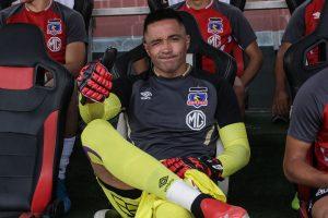 """Miguel Pinto por retorno a las prácticas en Colo-Colo: """"Tendremos que adaptarnos a la circunstancias"""""""