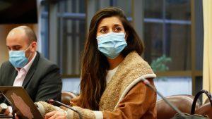 Diputada Circadini sufrió descompensación y fue atendida por personal médico del Congreso