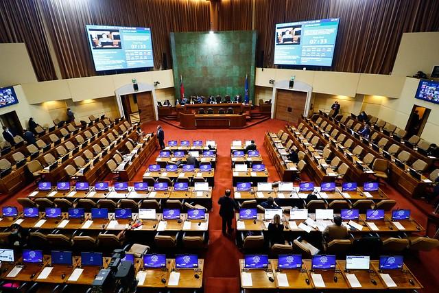 Sigue la sesión donde se votará el retiro de los fondos de las AFP