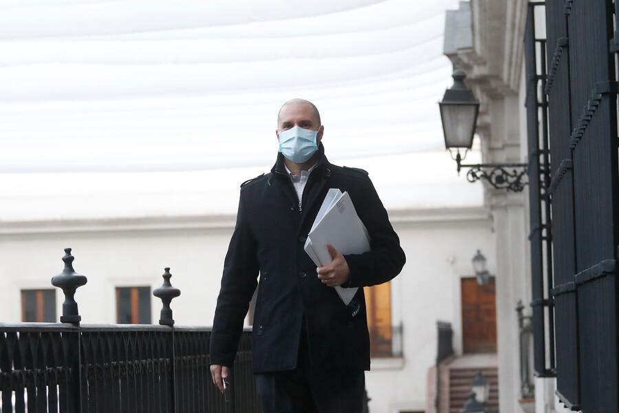 """Vocero Jaime Bellolio: """"Haber ingresado al gabinete por supuesto que es una manera de intentar recomponer nuestra coalición"""""""