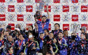 Hace 8 años Universidad de Chile se coronó tricampeón