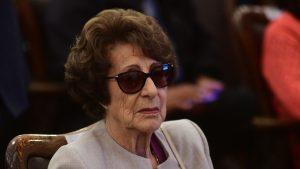 Ángela Jeria fue internada en el hospital de la FACh
