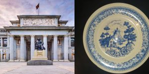 """""""Ciudadano a pata"""": El plato Willow y los 200 años del Museo Del Prado"""