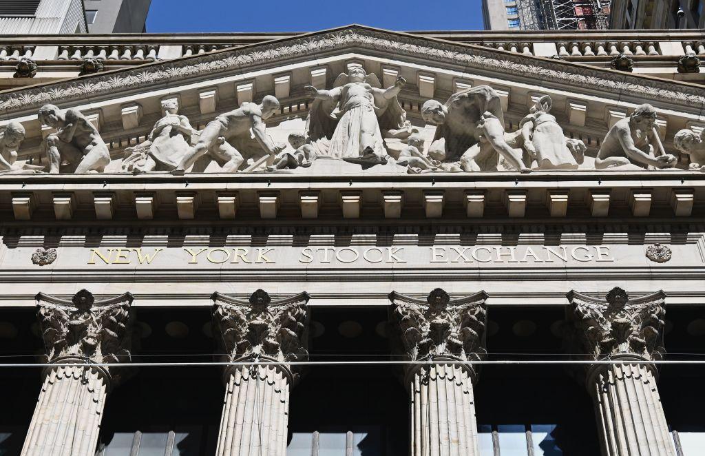La sede de la Bolsa de Nueva York