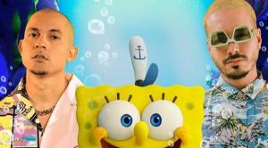 """J Balvin y Tainy se toman """"Fondo de Bikini"""" con su nueva canción """"Agua"""""""