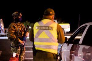 Carabineros informó drástica caída en la cantidad de personas detenidas por no respetar el toque de queda