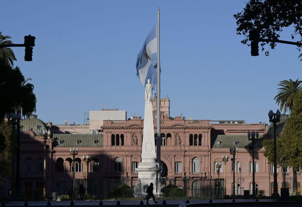 El palacio de la Casa Rosada