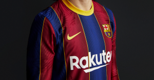 FC Barcelona presentó su nueva camiseta para la temporada 2020-21