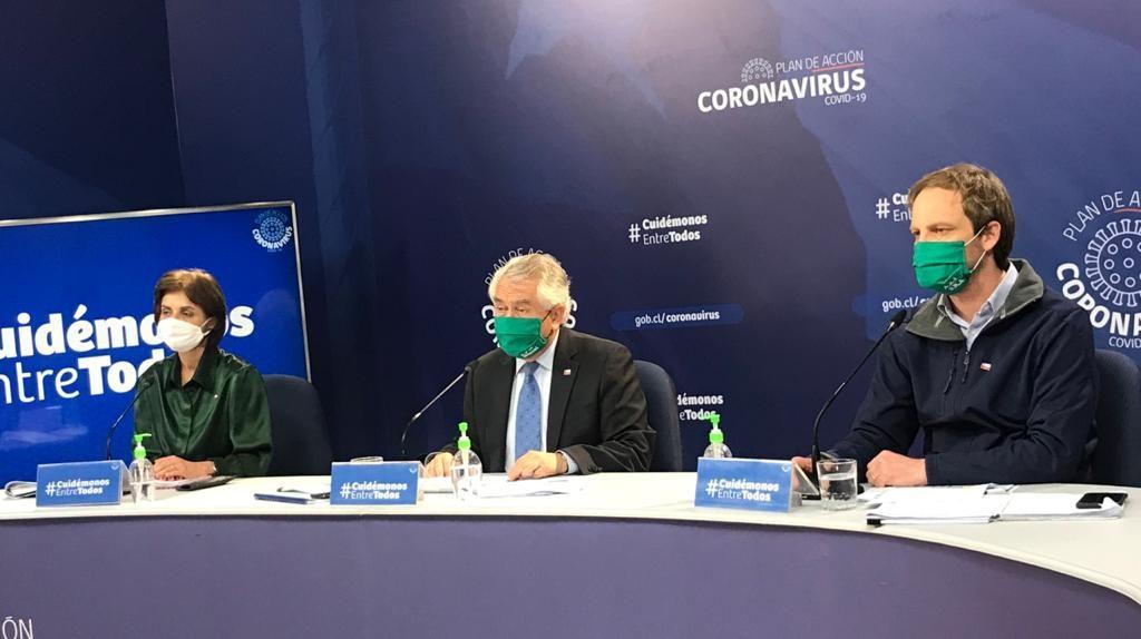 Minsal informó 3.133 nuevos contagios de coronavirus en Chile, llegando a 306.216 casos totales
