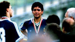 Maradona por la final de Italia 1990: No hacía falta que nos robaran como lo hicieron
