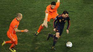 """Xavi alabó a la Selección Nacional: """"A excepción de Chile y después Alemania, nadie nos jugaba de tú a tú"""""""