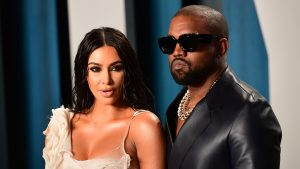 Kim Kardashian mostró su apoyo a la candidatura de Kanye West por primera vez